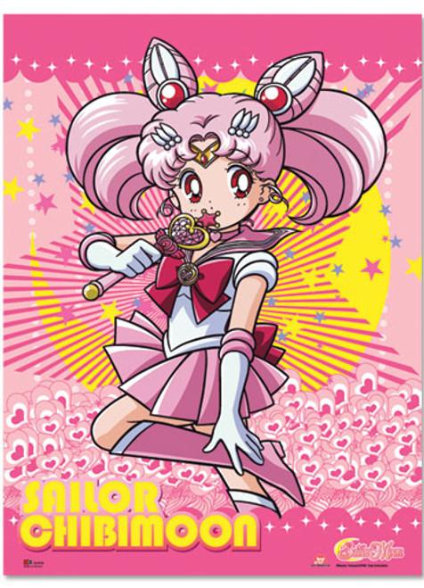 Sailor Moon Sailor Chibi Moon posing Wall Scroll