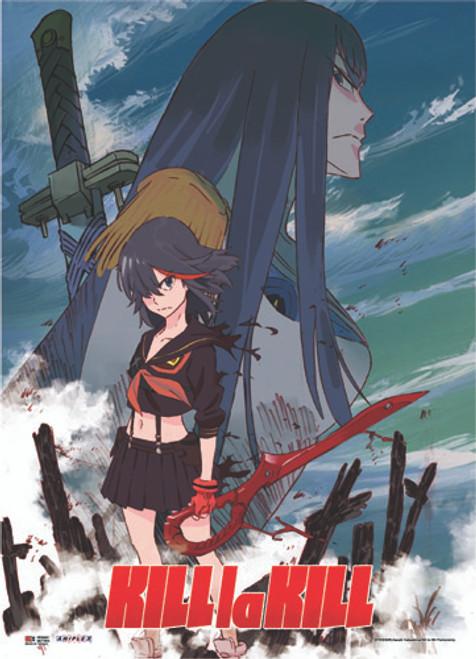Kill La Kill Ryuko with Satsuki Wall Scroll