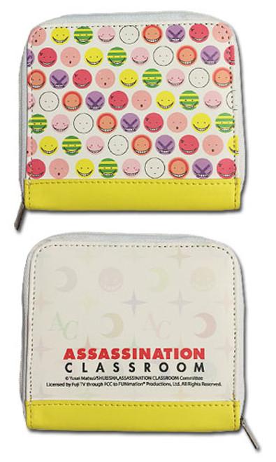 Assassination Classroom Korosensei Face Wallet