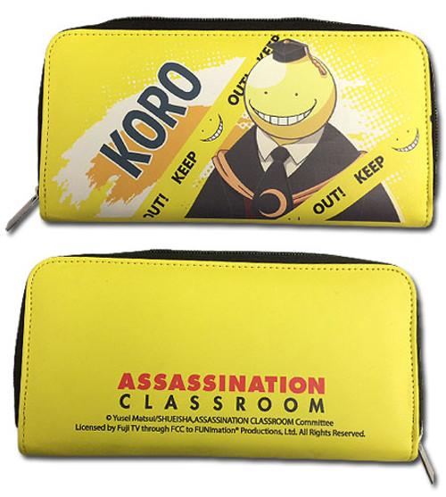 Assassination Classroom Yellow Korosensei Wallet
