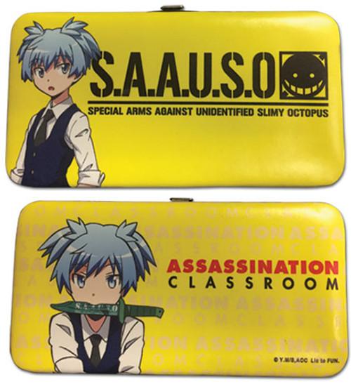 Assassination Classroom Yellow Nagisa Hinge Wallet