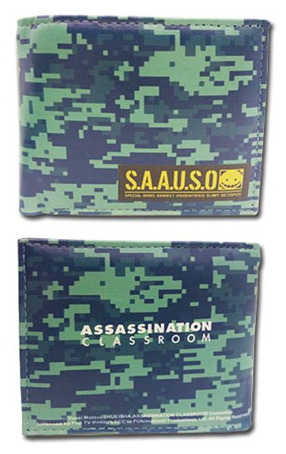 Assassination Classroom Camo SAAUSO Wallet