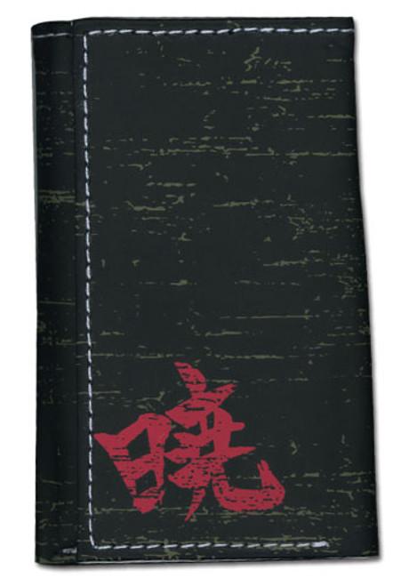 Naruto Shippuden Akatsuki Japanese Symbol Key Holder Wallet