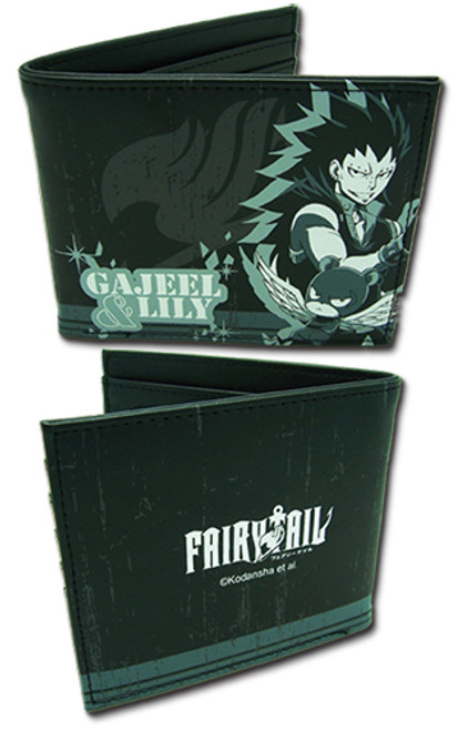 Fairy Tail Gajeel, and Panther Lily Male Wallet