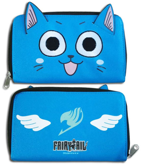 Fairy Tail Happy Face Zip Wallet 2