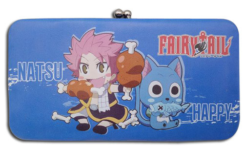 Fairy Tail Natsu, and Happy Eating Hinge Wallet