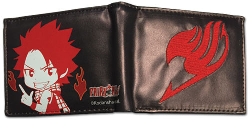 Fairy Tail Chibi Natsu with Fairy Tail Logo Wallet