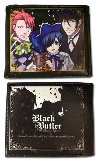 Black Butler Ciel, Sebastian, and Joker Wallet