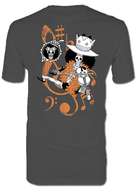 One Piece - Brook Playing Violin T-Shirt