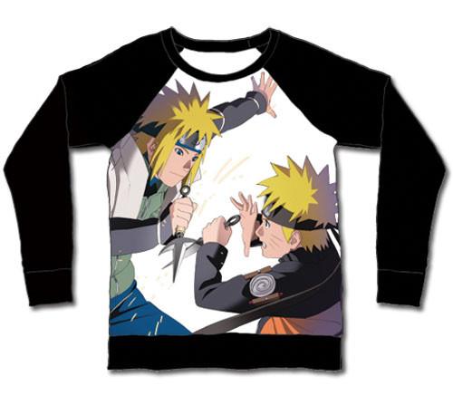 Naruto - Minato And Naruto Long Sleeve Shirt