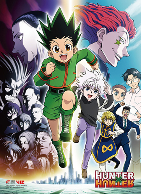 HunterxHunter Group Wall Scroll