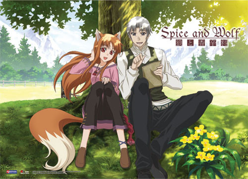 Spice and Wolf Holo, and Kraft Wall Scroll