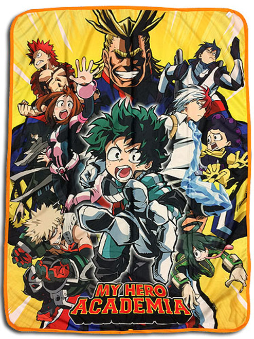 My Hero Academia Class 1-A with All Might Throw Blanket
