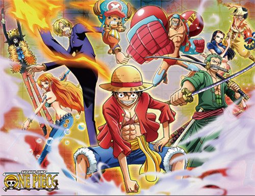 One Piece Straw Hats After Time Skip Using Ability's Throw Blanket