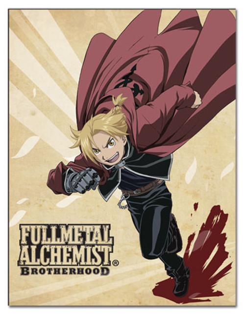 FullMetal Alchemist Brotherhood Edward Elric Throw Blanket