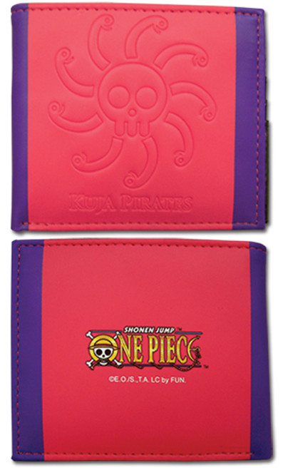 One Piece Kuja Pirates Jolly Roger Male Wallet