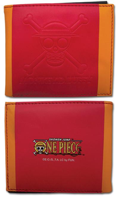 One Piece Straw Hat's Jolly Roger Male Wallet