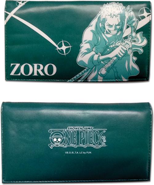 One Piece Zoro, Green Wallet