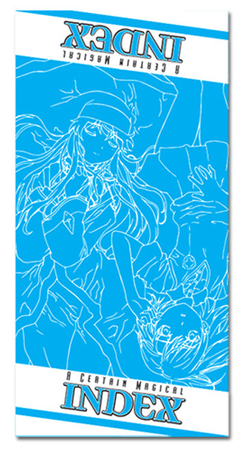 A Certain Magical Index Index And Misaka Beach Towel