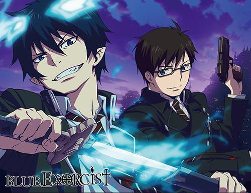 Blue Exorcist Okumura Brothers Throw Blanket
