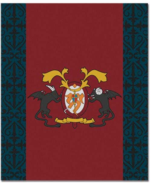 Blue Exorcist True Cross Academy Emblem Throw Blanket