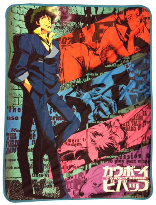 Cowboy Bebop - Spike Spiegel Throw Blanket