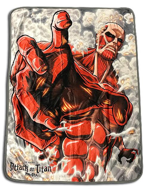 Attack On Titan - Colossal Titan Throw Blanket