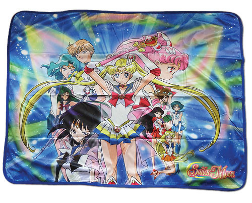 Sailor Moon S Sailor Warriors Throw Blanket