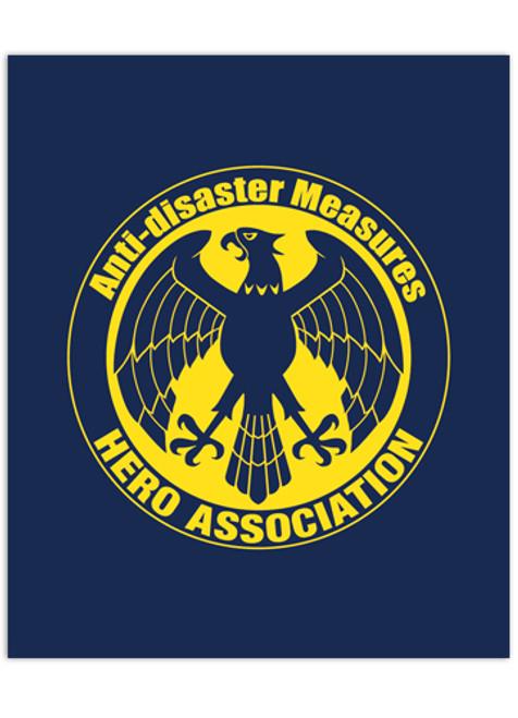 One Punch Man Hero Association Emblem Throw Blanket