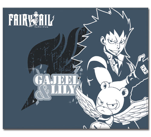 Fairy Tail Gajeel, and Panther Lily Throw Blanket