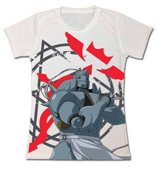 Fullmetal Alchemist Brotherhood - Alphonse With The Flamel Cross Sigil JRS T-Shirt