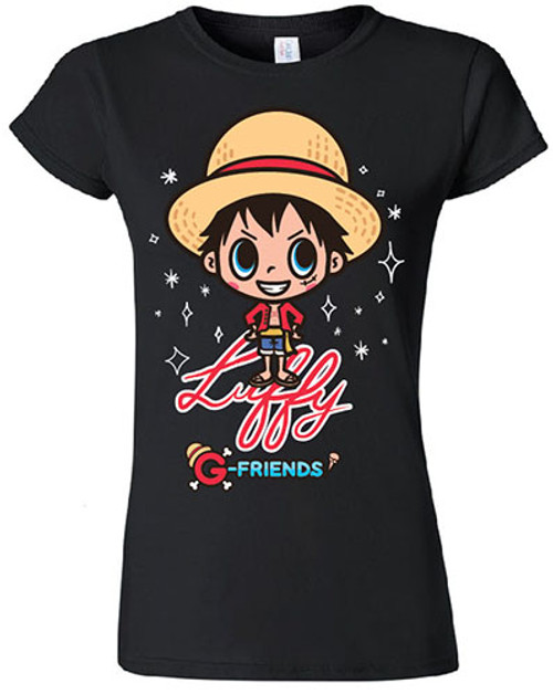 One Piece - Chibi Luffy Among The Stars JRS T-Shirt