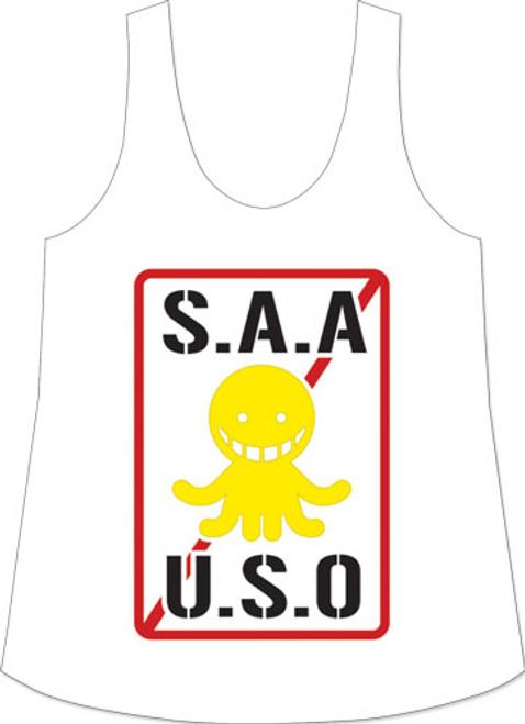 Assassination Classroom - S.A.A.U.S.O Logo Tank Top