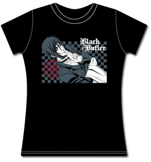 Black Butler Sebastian And The Faustian Contract JRS T-Shirt