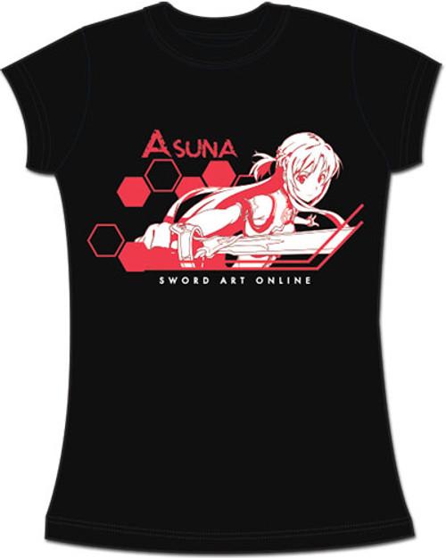 Sword Art Online - Asuna Attacking JRS T-Shirt