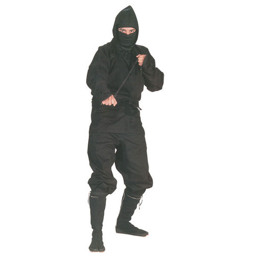 Genuine Black Ninja Outfit
