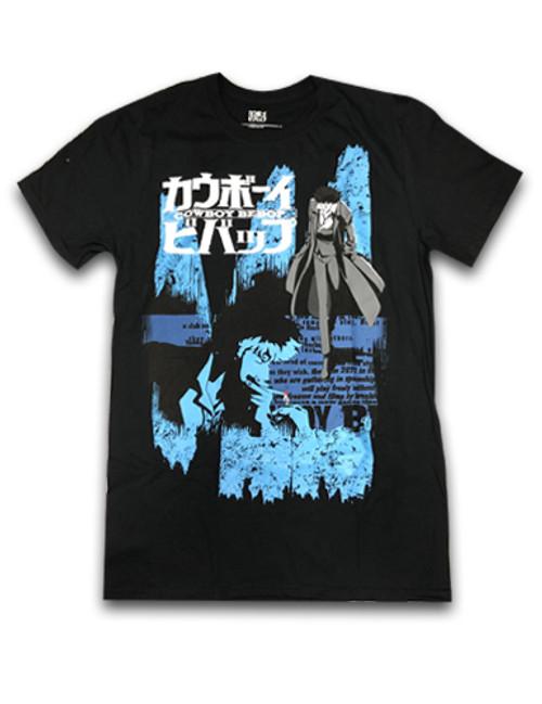 Cowboy Bebop - Spike Staring T-Shirt