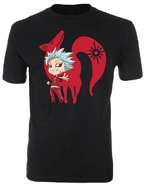 Seven Deadly Sins Chibi Fox Sin Ban T-Shirt