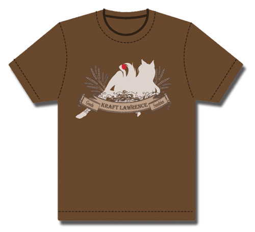 Spice and Wolf Lawrence Trading with Holo In The Background T Shirt