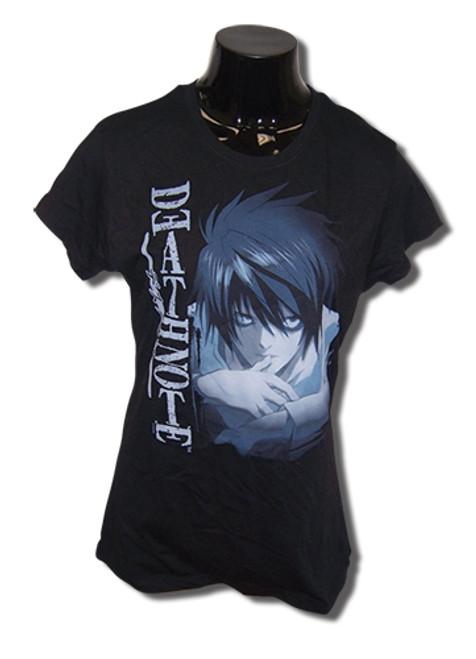 Death Note - L Biting Thumb JRS T-Shirt