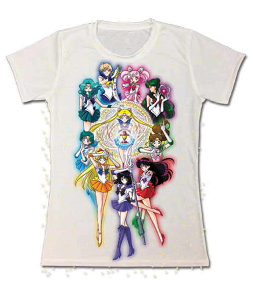 Sailor Moon All Sailor Soldiers JRS T-Shirt