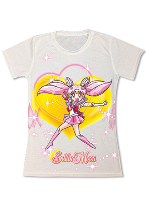 Sailor Moon Chibi Moon Fighting Pose JRS T-Shirt