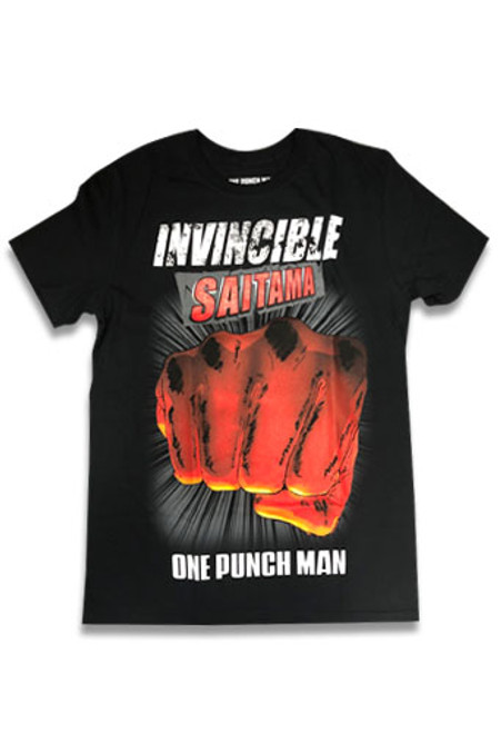 One Punch Man - Invincible Saitama T-Shirt