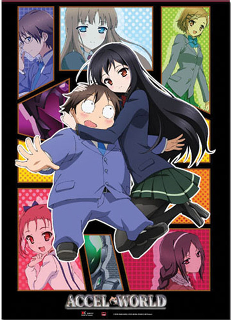 Accel World - Main Cast Wall Scroll