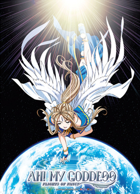 Ah! My Goddess - Balldandy With Wings Wall Scroll