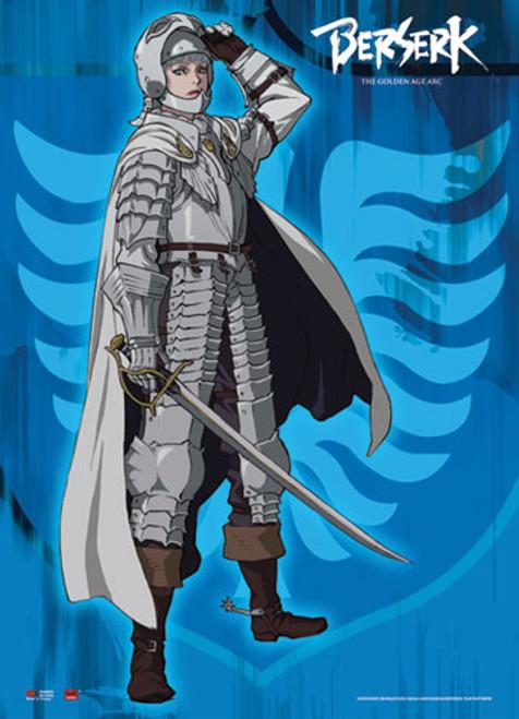 Berserk - Griffith In Armor Wall Scroll