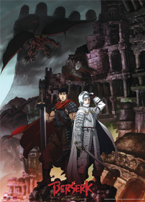Berserk - Guts And Griffith Wall Scroll