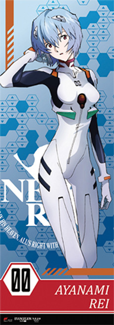 """Evangelion - Rei 67"""" Special Edition Wall Scroll"""