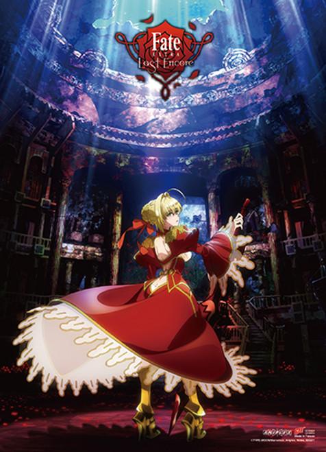 Fate Extra Last Encore - Saber Dancing Key Art Wall Scroll