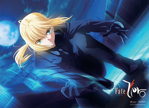 Fate Zero - Saber Sword Drawn Wall Scroll